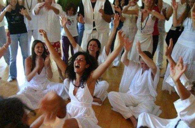 """Телесно-ориентированное медитативное занятие """"Яркие краски жизни"""". Медитации ОШО"""